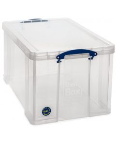 84L Really Useful Box 380 x 440 x 710 - Clear