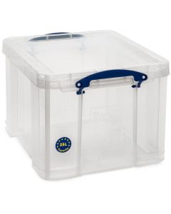 35L Really Useful Box 310 x 390 x 480 - Clear