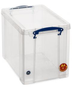 19L Really Useful Box 395 x 255 x 290 - Clear