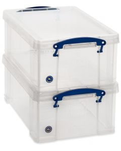 2 x 9L Really Useful Boxes